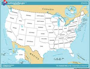 united states map with major cities blank map of the united states with major cities