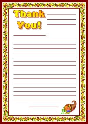 Thanksgiving Letter Template thanksgiving teaching resources and lesson plans