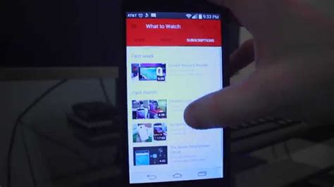 new youtube layout android new youtube 6 0 material design android review youtube