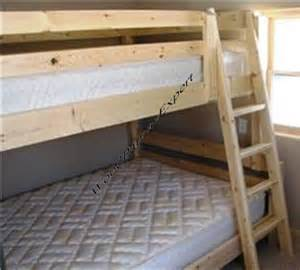 make your own bunk bed plans wooden furniture plans