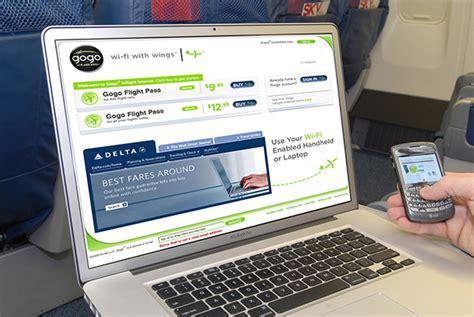 delta airlines wifi delta completa instalaci 243 n de wi fi en un tercio de su flota