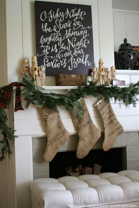 burlap holiday decorations pinterest