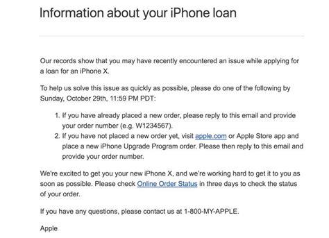 ایمیل اپل به پیش خریداران ناموفق آیفون 10 Cold Email Sequence Template