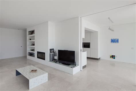 allmodern open box living room modern white arch decorations inviting