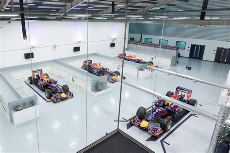 f1 factory factory hospitality bull racing formula one team