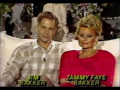 Tammy Bakkers Is Now One God With Lip Ring And Prayer Fingers Goodness by Jim Tammy Bakker On Nightline May 27 1987