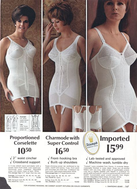 Girdle Impression sears open all in one girdle 3triumph girdles