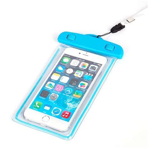 Terlaris Sarung Hp Waterproof 4 tas waterproof luminous untuk smartphone 4 5 6 inch abs175 100 blue jakartanotebook