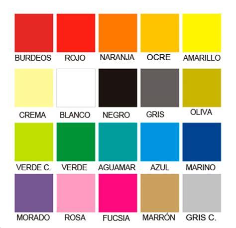 carta de colores para letras madera decoraletras