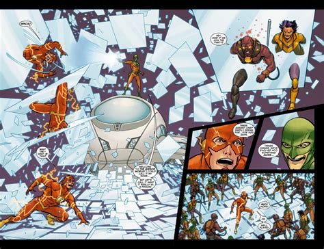 Mirror World batman vs mirror master battles comic vine