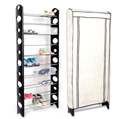shoe storage stand 12 tier 36 pairs hanging the door shoe rack hook