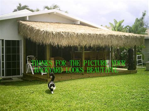 Tiki Hut Roof Material Image Gallery Thatch Rolls