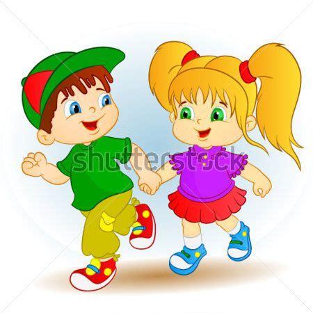 Imagenes Caricaturas Alegres | lindo chico y girl ni 241 os felices im 225 genes predise 241 adas