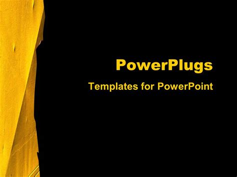 template powerpoint yellow powerpoint template yellow image collections powerpoint