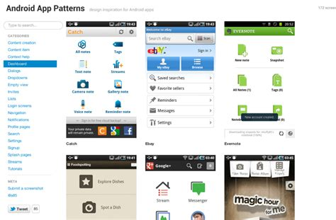 design pattern for android six tools to create a compelling mobile app design