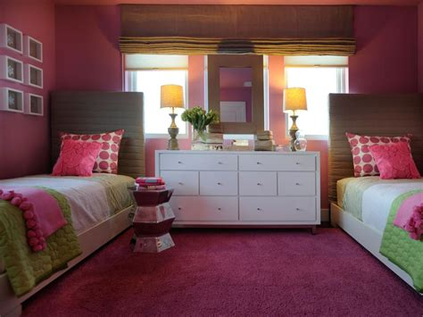 hgtv girls bedroom ideas eclectic hot pink girls bedroom hgtv
