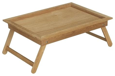 Neutral Bedroom Decor - oak bed tray contemporary lap trays amp tray tables by john lewis