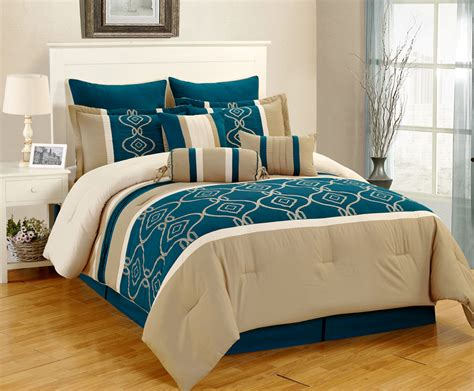 Teal Bed Set by Teal Brown Bedding Sets Gretchengerzina