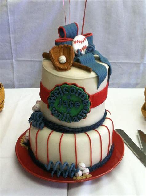 Baseball Baby Shower Cakes by Baby Shower Baseball Cake Cake Designs