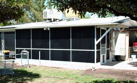 backyard screen enclosures patio screen enclosures arizona sun screen