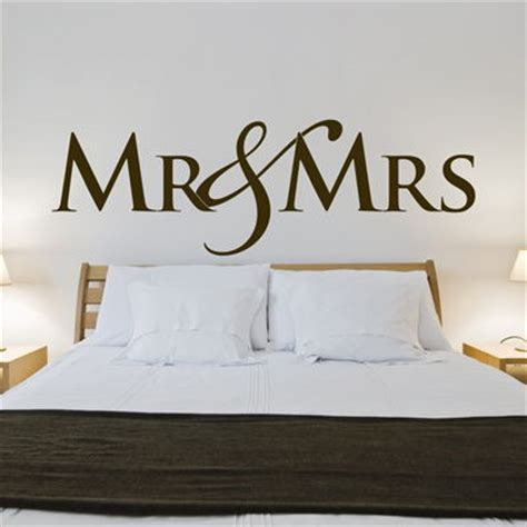 mr wall stickers mr mrs wedding wall decals