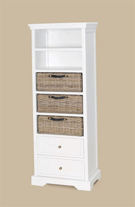Furniture Tall White Wooden Bookcase With Double Racks White Slim Bookcase