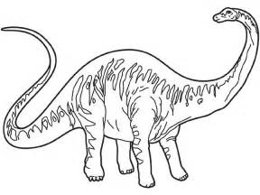 coloriage 224 imprimer animaux dinosaures diplodocus