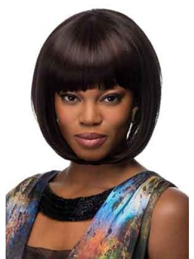 chin length hairstyles for ethnic hair trendy black straight chin length african american wigs