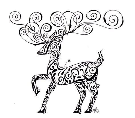 doodle draw reindeer reindeer drawing doodling with stacey designs by