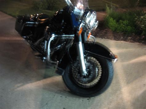 Running Car Tires On A Motorcycle Who Has Run 160 E3 Tire On Touring Bike Page 3 Harley