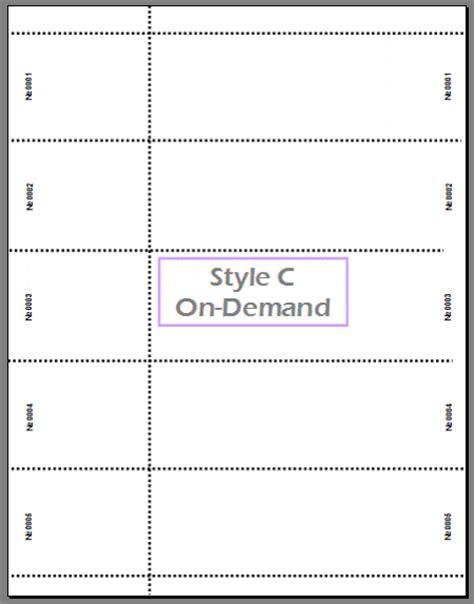staples printable tickets template staples raffle ticket template staples custom event