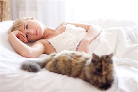 lay in bed 4 single girl myths to ditch
