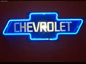 miscellaneous neon chevy sign picture nr 25393