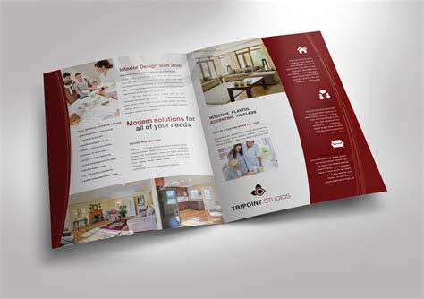 Half Fold Brochure Template For Design Company Marketing Materials Order Custom Half Fold Marketing Material Templates
