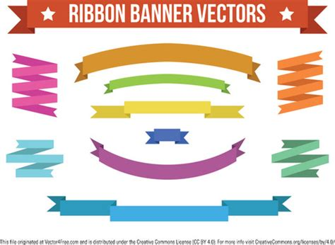 ribbon vector tutorial photoshop ribbon banner photoshop brushes free vector download