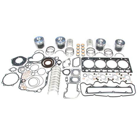 kubota  engine overhaul rebuild kit