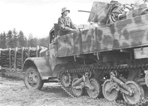 opel blitz maultier german armored forces vehicles opel blitz based