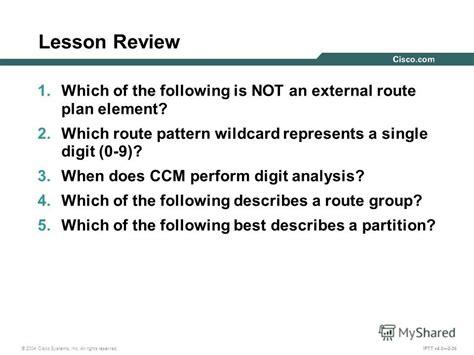 route pattern wildcards exles презентация на тему quot troubleshooting cisco callmanager