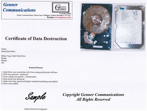 shropshire data destruction confidential data destruction