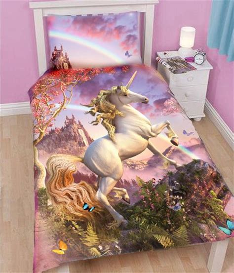 unicorn bed linen unicorn bedding totally totally bedrooms
