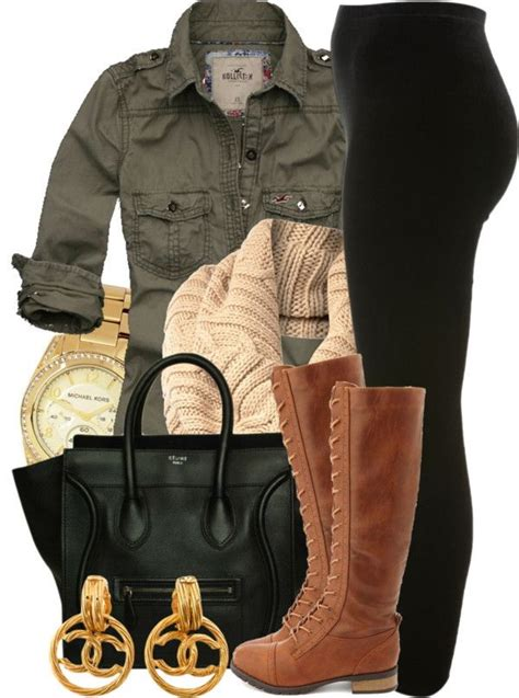 Khaki Leopard Casual Top 26839 how to wear khaki and green jackets and coats