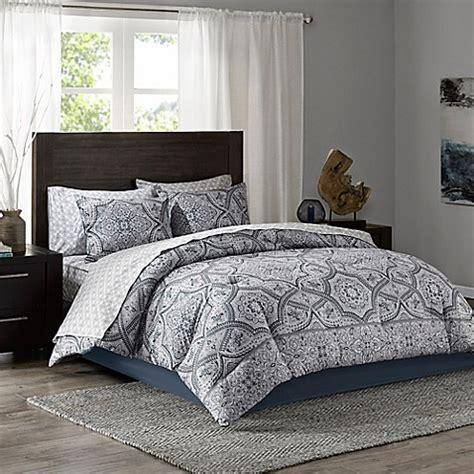 tanami comforter set in blue grey bed bath beyond