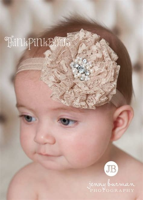 baby with headbands 52 images 12 beautiful baby baby headbandnewborn headband lace baby headband by