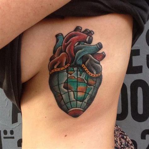 old herz seite tattoo von forever tattoo
