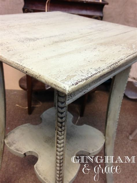 chalk paint table top getting chocked with miss lillian s chalk paint gingham