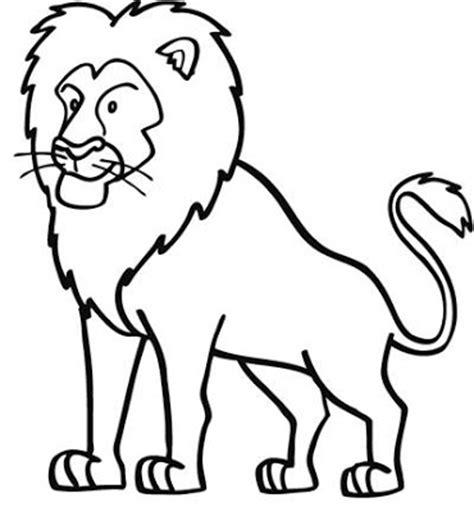 dibujos infantiles leones la chachipedia leones para colorear para imprimir y gifs