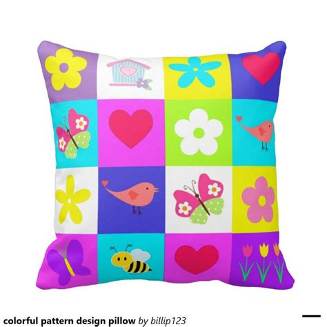 8 Pillows To Dress Up Your by Colorful Pattern Design Pillow Throw Pillow