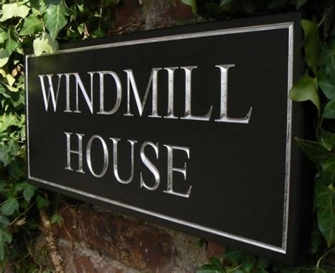Handmade House Signs - gallery house signs