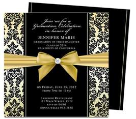 graduation invitations templates dandy graduation announcement invitation template