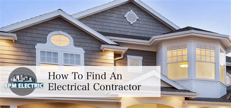 electrical contractor vancouver bpm electric